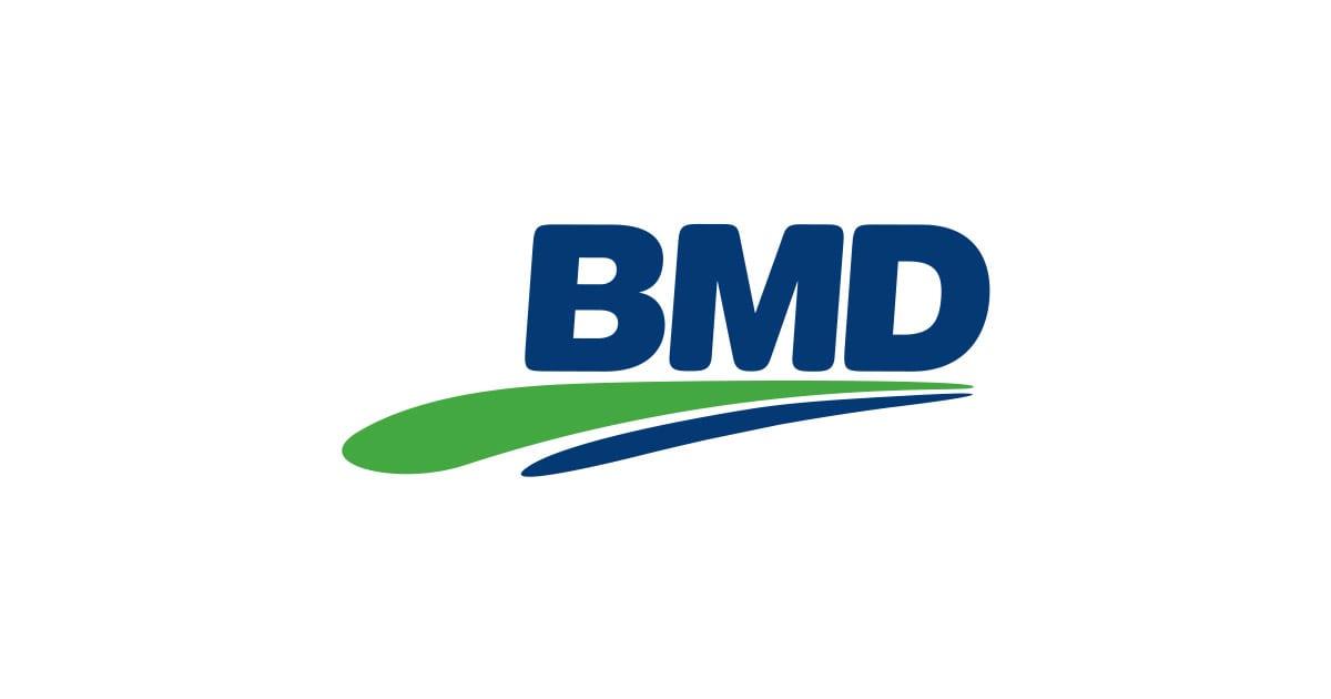 Logo of the BMD company