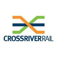 Logo of Brisbane's Cross River Rail